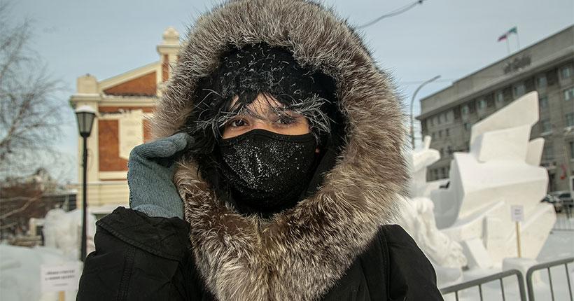 Морозная погода продолжит радовать жителей Новосибирской области почти до конца недели