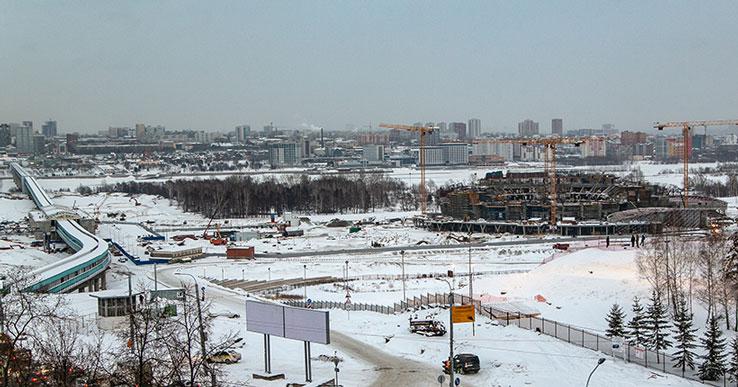На строящейся станции метро «Спортивная» установят лифты для маломобильных пассажиров