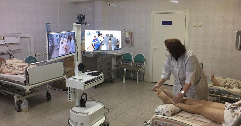 В Новосибирской области начали активно развивать телемедицинские консультации