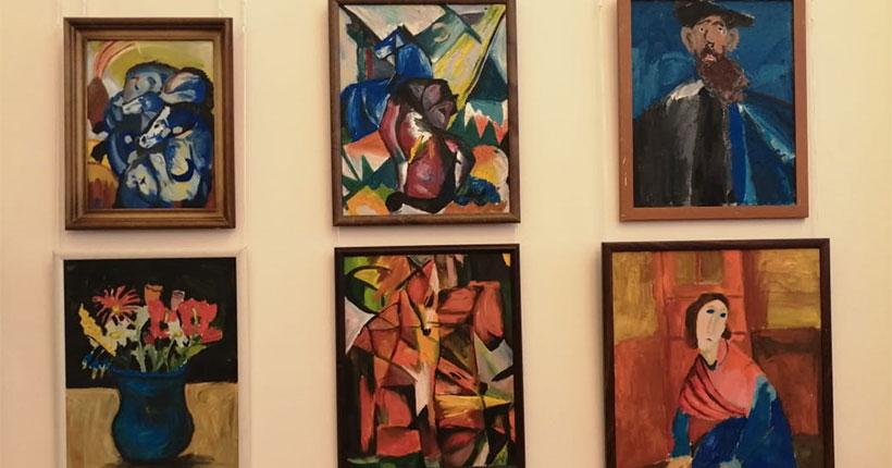 В Новосибирске открылась выставка юных художников, навеянная впечатлениями от картин известных мастеров