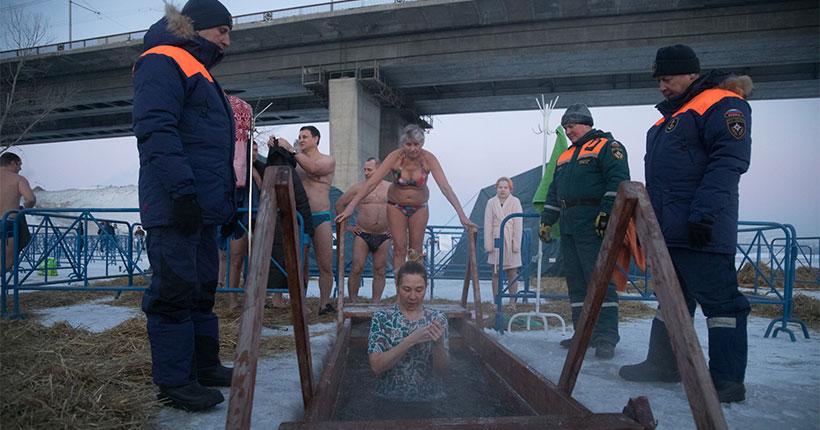 Стало известно, как в Новосибирской области прошли крещенские купания