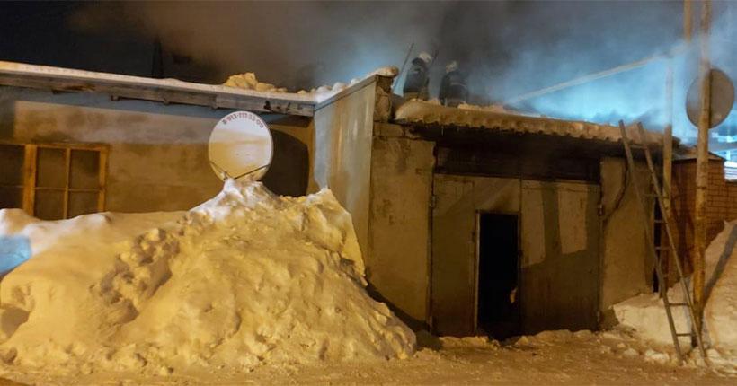 В Заельцовском районе Новосибирска во время пожара погибла пожилая женщина