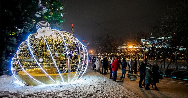 Новосибирск обретёт новый статус и станет новогодней столицей всей России