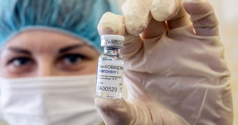 На прививку — в первый раз