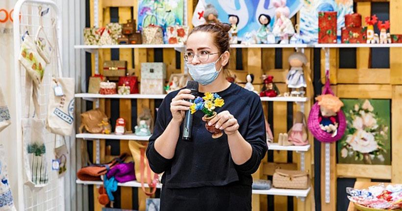 В Новосибирске открылась ярмарка изделий ручной работы