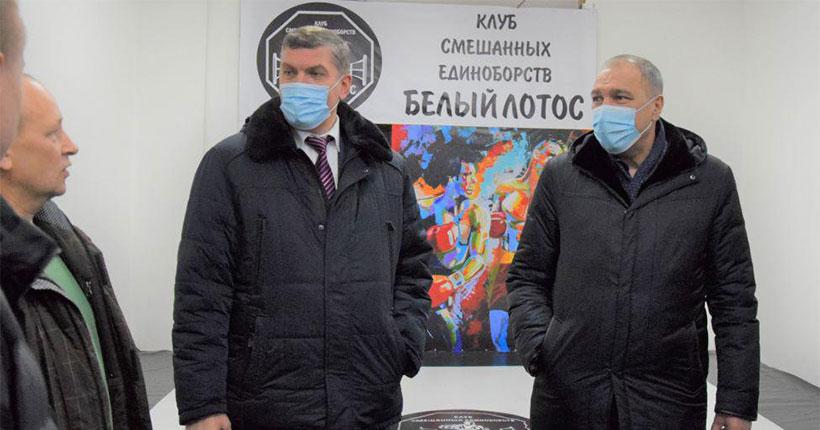 В Черепаново Новосибирской области поддержали спортсменов-единоборцев