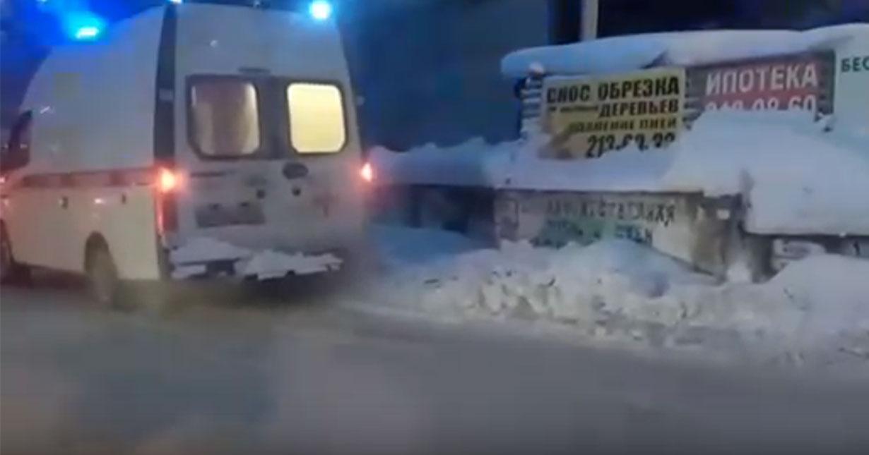 В Новосибирске во время пожара эвакуировали более пятидесяти человек
