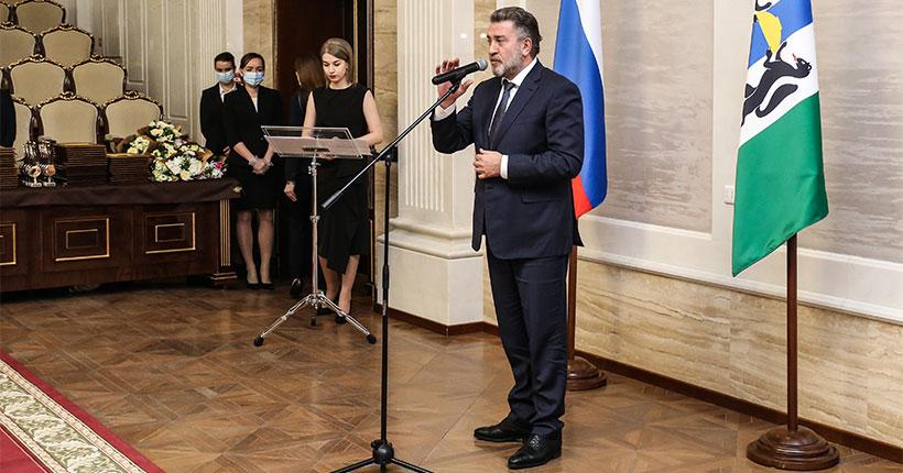 В Новосибирской области наградили лучших предпринимателей региона