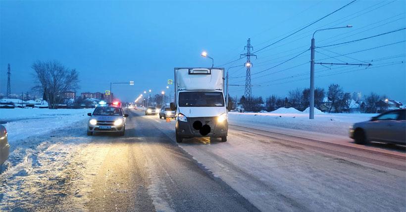 В Новосибирске на пешеходном переходе автомобиль сбил ребёнка