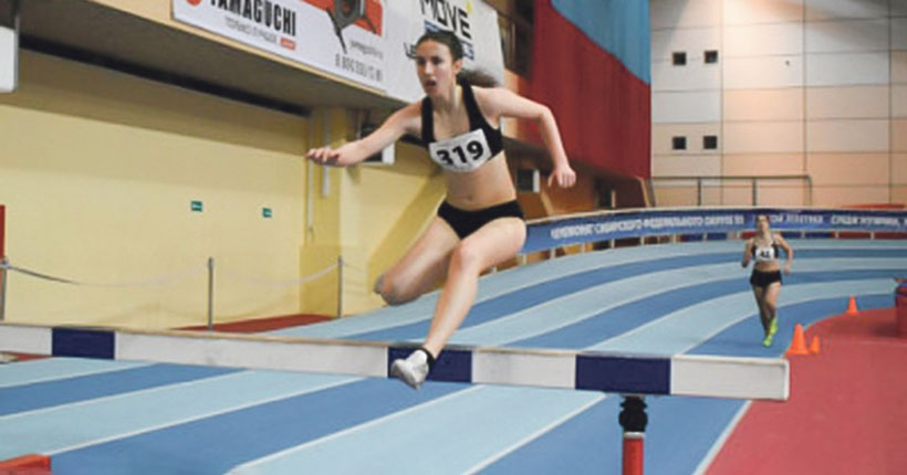 Юная новосибирская легкоатлетка стала призёром первенства России