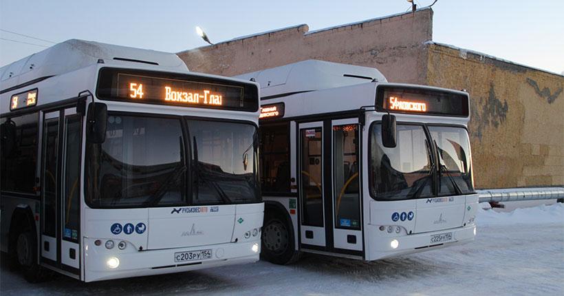 Мэр Новосибирска опроверг информацию о невыходе на линии минских автобусов