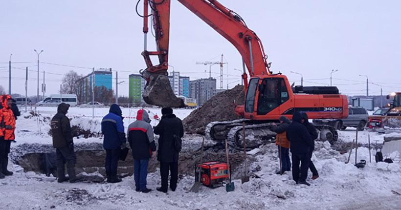 Бригады АО «РЭС» устраняют последствия аварийной ситуации в микрорайоне «Чистая слобода»