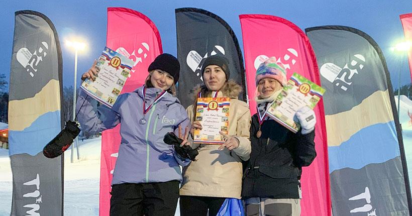Новосибирская сноубордистка рвётся в сборную России