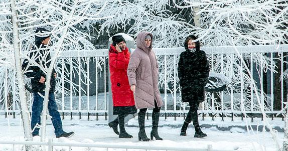В ближайшие сутки в Новосибирской области ожидается сорокаградусный мороз