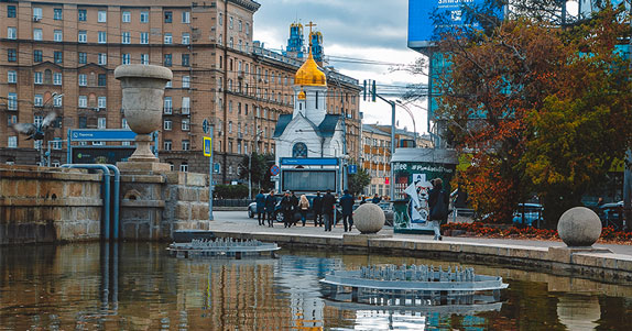 Стала известна дата открытия перехода под часовней на Красном проспекте в Новосибирске