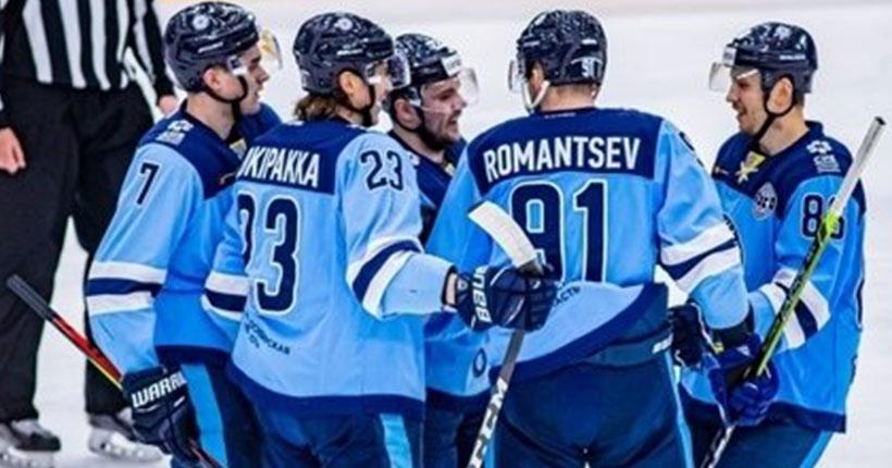 Новосибирская хоккейная «Сибирь» обыграла нижнекамский «Нефтехимик»