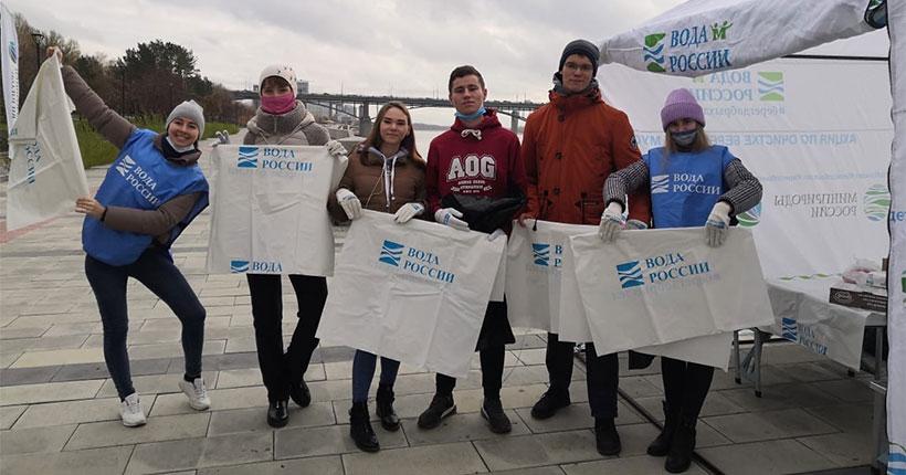 В Новосибирской области очистят от бытового мусора 200 км береговых линий