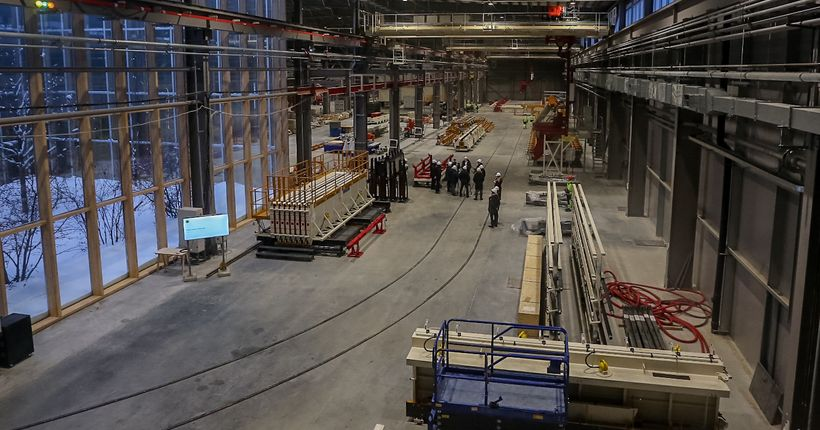 Новый микрорайон в Краснообске строят по уникальной технологии