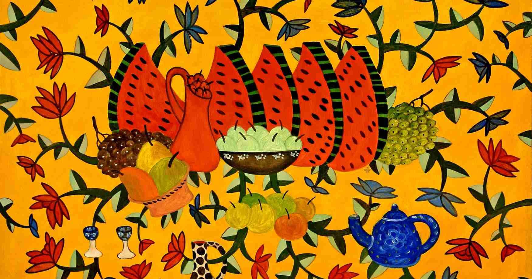 Два взгляда на рай: в художественном музее открылись выставки Люси Вороновой и Бориса Смотрова