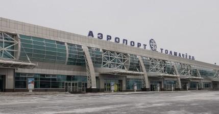 В аэропорту Толмачёво транспортные полицейские задержали двух дебоширов