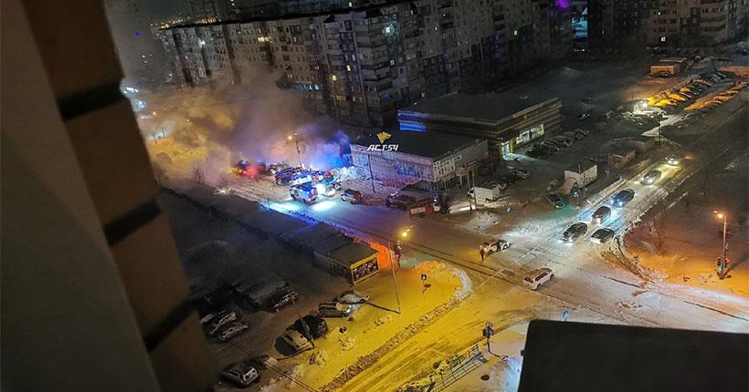 В Новосибирске сотрудница ломбарда отказалась покидать рабочее место во время пожара