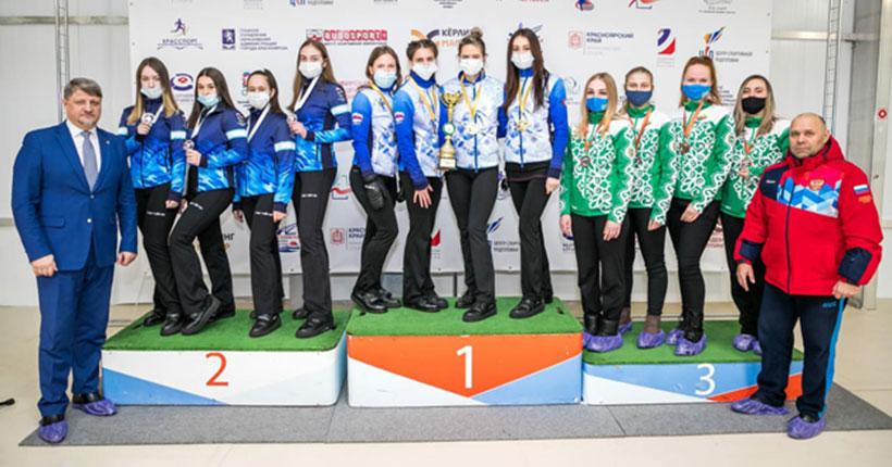 Новосибирские кёрлингистки стали сильнейшими в Сибири