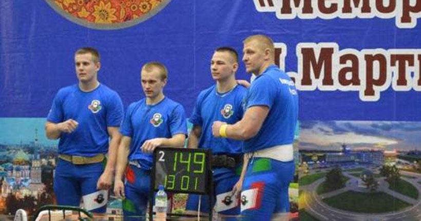 Пять золотых медалей завоевали наши гиревики на всероссийском турнире