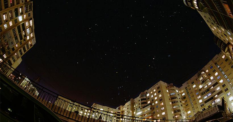 В первом месяце весны на ночном небе над Новосибирской областью можно увидеть созвездия Льва и Девы
