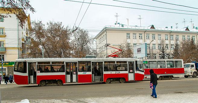 В Новосибирске начнут модернизировать устаревшие трамваи