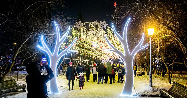 В Новосибирске к Новому году-2023 появятся праздничные локации каждого федерального округа страны