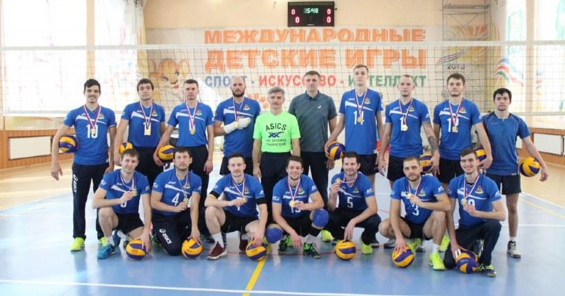 Новосибирские волейболисты снова стали чемпионами России