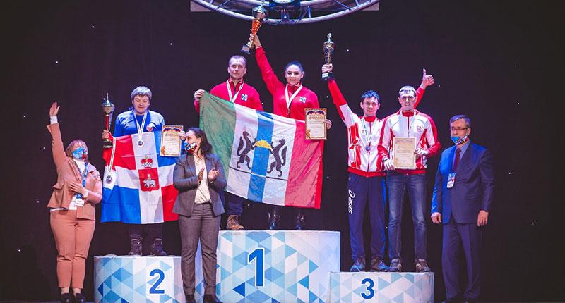 Сборная сельских спортсменов Новосибирской области вошла в пятёрку лучших в России