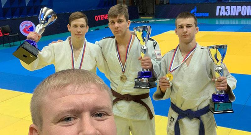 Новосибирские дзюдоисты стали победителями президентского турнира