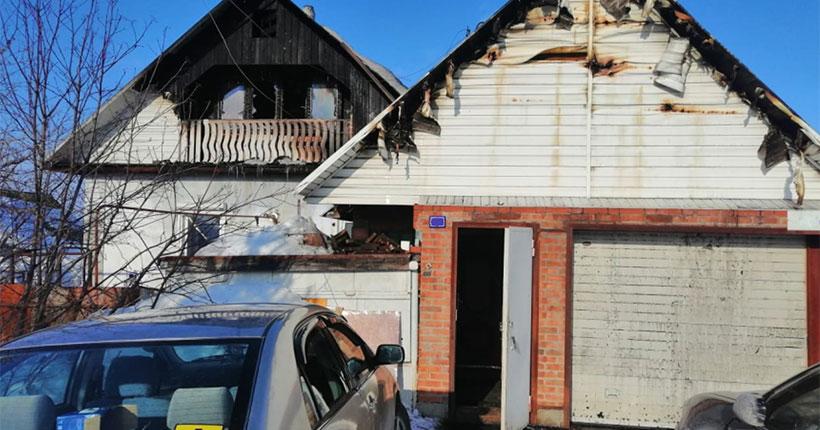 В Новосибирской области семью из восьми человек спас пожарный извещатель