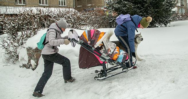 В заксобрании Новосибирской области обсудили проблему уборки снега в мегаполисе