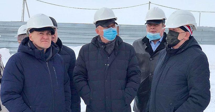 По наказам избирателей депутату заксобрания Глебу Поповцеву в селе Верх-Тула строится школа