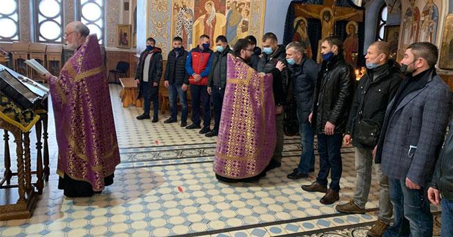 В Новосибирской области состоялся молебен в честь победы спортсменов