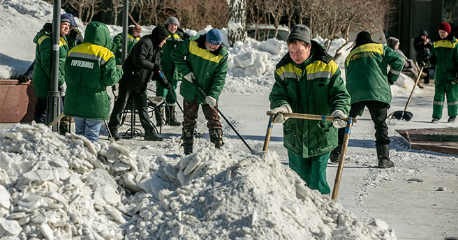 В Новосибирске введён режим повышенной готовности из-за таяния снега