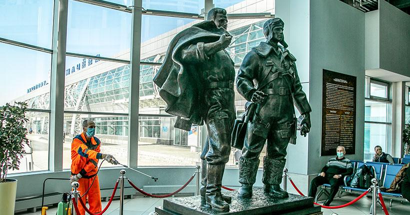 Новые направления вылетов из новосибирского аэропорта Толмачёво стартуют в апреле