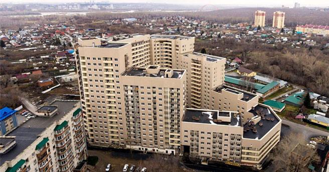 В Новосибирске завершено строительство двух многострадальных долгостроев на улице Тульской