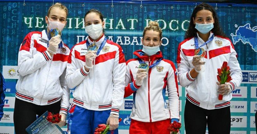 Новосибирские пловчихи впервые выиграли кролевую эстафету на чемпионате России