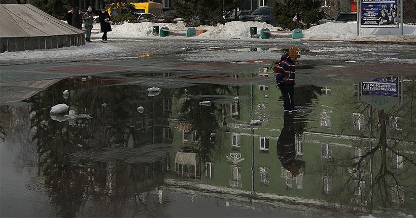На улично-дорожной сети Новосибирска определено 17 зон, подверженных подтоплению