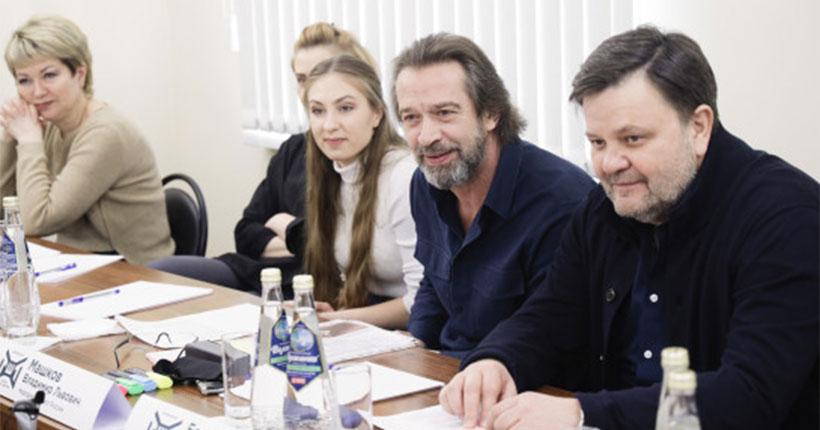 Владимир Машков отберёт талантливых детей Новосибирской области в театральную школу Олега Табакова