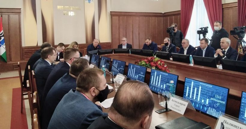 Долгострои в Закаменском и на Вилюйской в Новосибирске будет достраивать фонд защиты прав обманутых дольщиков