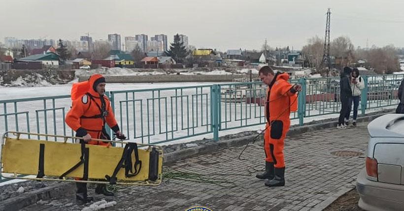 В Ленинском районе Новосибирска под лёд ушёл любитель рыбной ловли