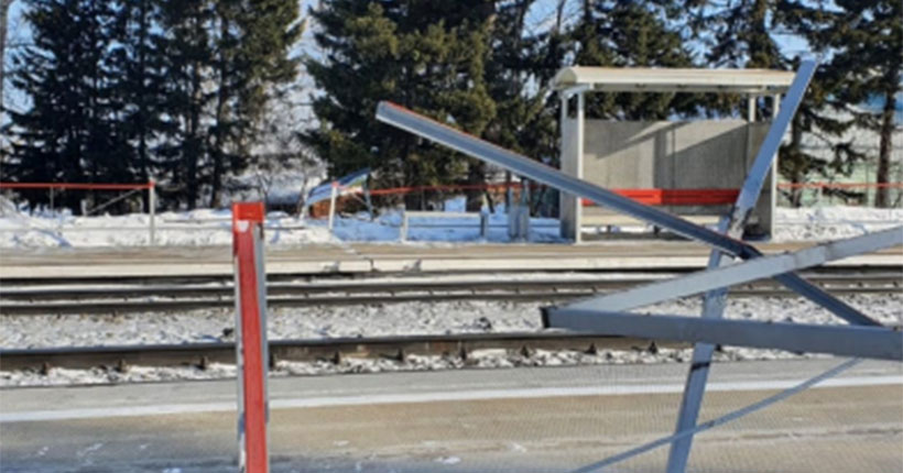 Новосибирская молодёжь разгромила станцию в Кемеровской области