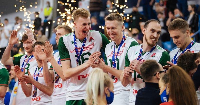 Новосибирский волейбольный «Локомотив» стал призёром чемпионата России