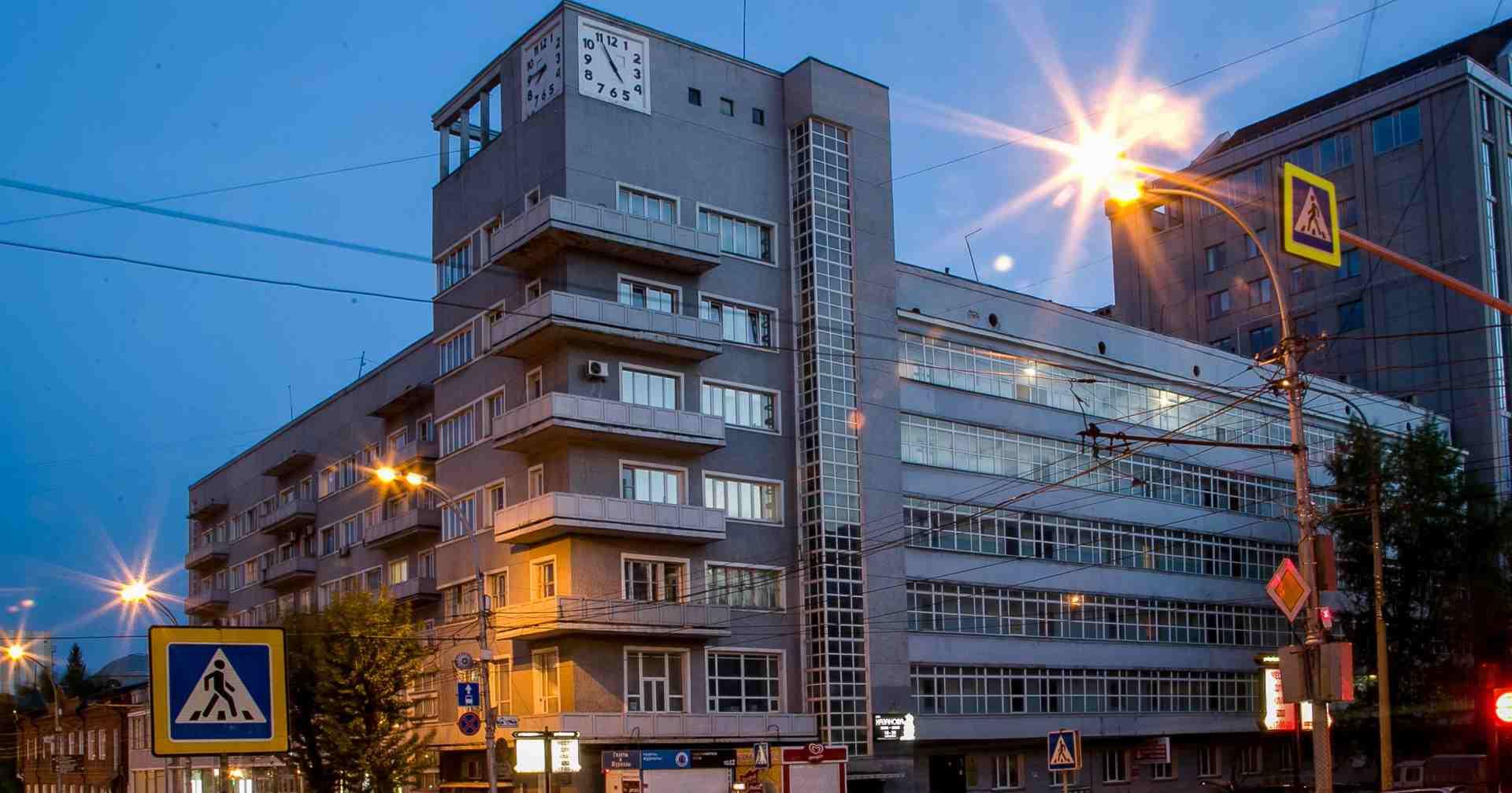 Новосибирский Дом с часами станет пилотным проектом по реставрации многоквартирных домов-памятников