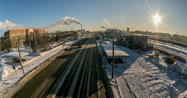 В Новосибирске изменяют схему движения на улице Станционной