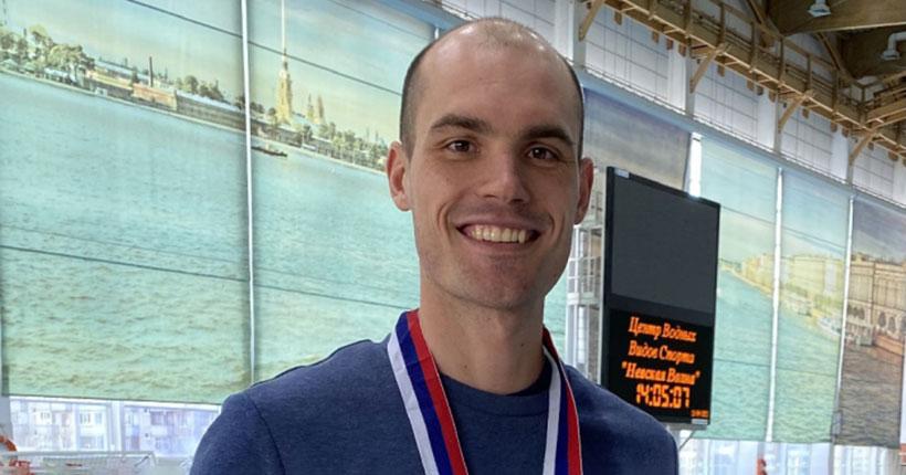 Новосибирский пловец-подводник «вынырнул» ссеребром чемпионата России